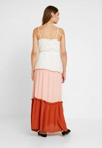 YAS - YASNIGIRI SLIP DRESS  - Maxiklänning - star white - 2