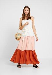 YAS - YASNIGIRI SLIP DRESS  - Maxiklänning - star white - 1