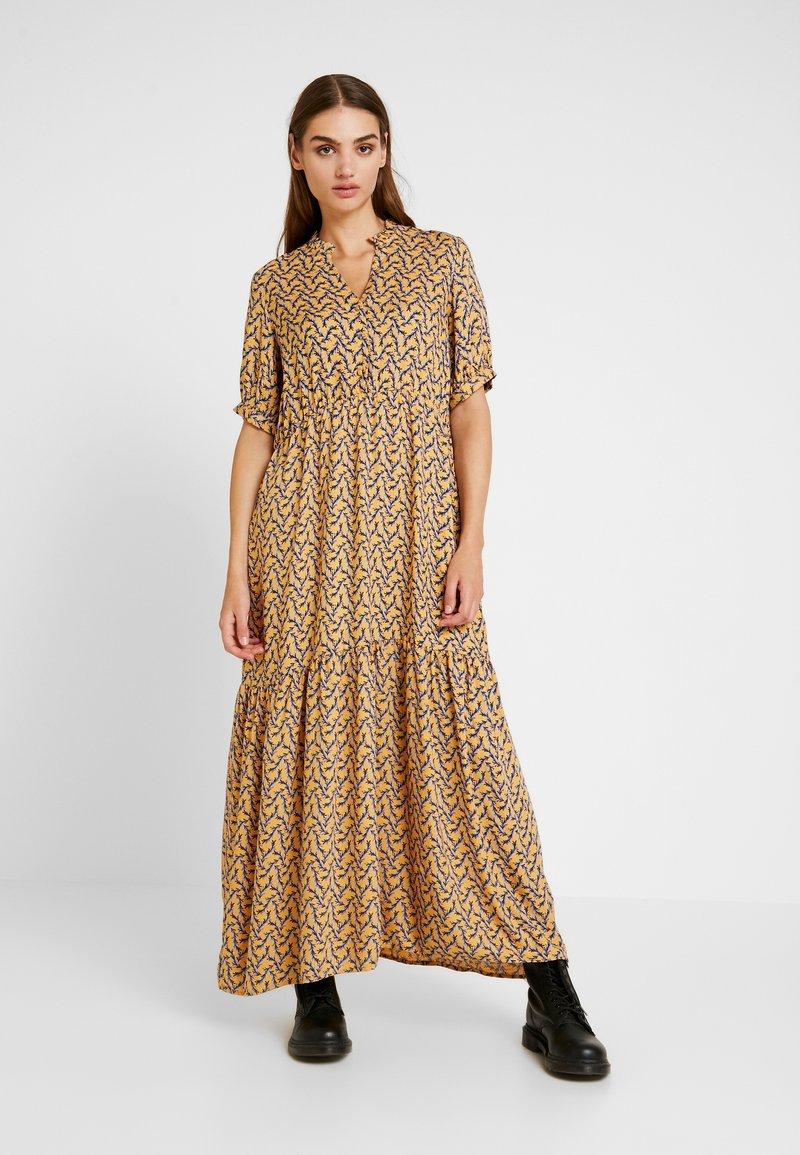 YAS - SYLVIA ANKLE DRESS - Vestido largo - light yellow