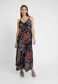 YAS - YASVINDA STRAP DRESS - Maxikjoler - dark blue - 0