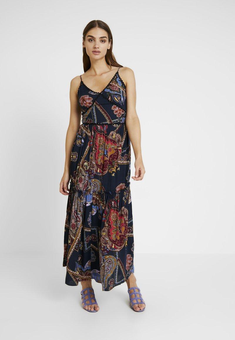 YAS - YASVINDA STRAP DRESS - Maxikjoler - dark blue