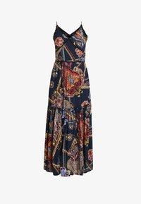 YAS - YASVINDA STRAP DRESS - Maxikjoler - dark blue - 4