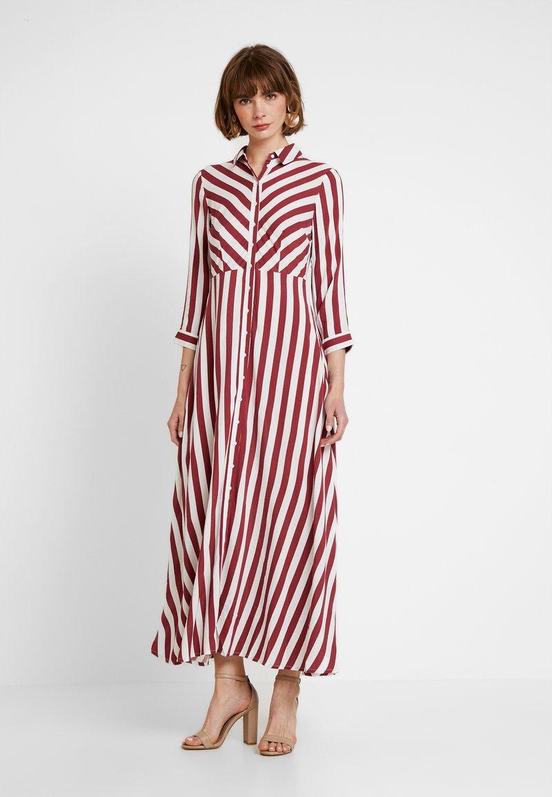 YAS - YASSAVANNA LONG DRESS - Maxi šaty - tibetan red