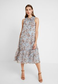 YAS - YASMILIVA HALTERNECK DRESS - Day dress - allure - 0