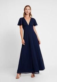 YAS - YASPEACHY MAXI DRESS - Occasion wear - night sky - 0