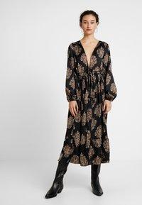 YAS - YASLOTTA KAFTAN - Maxi dress - black - 0