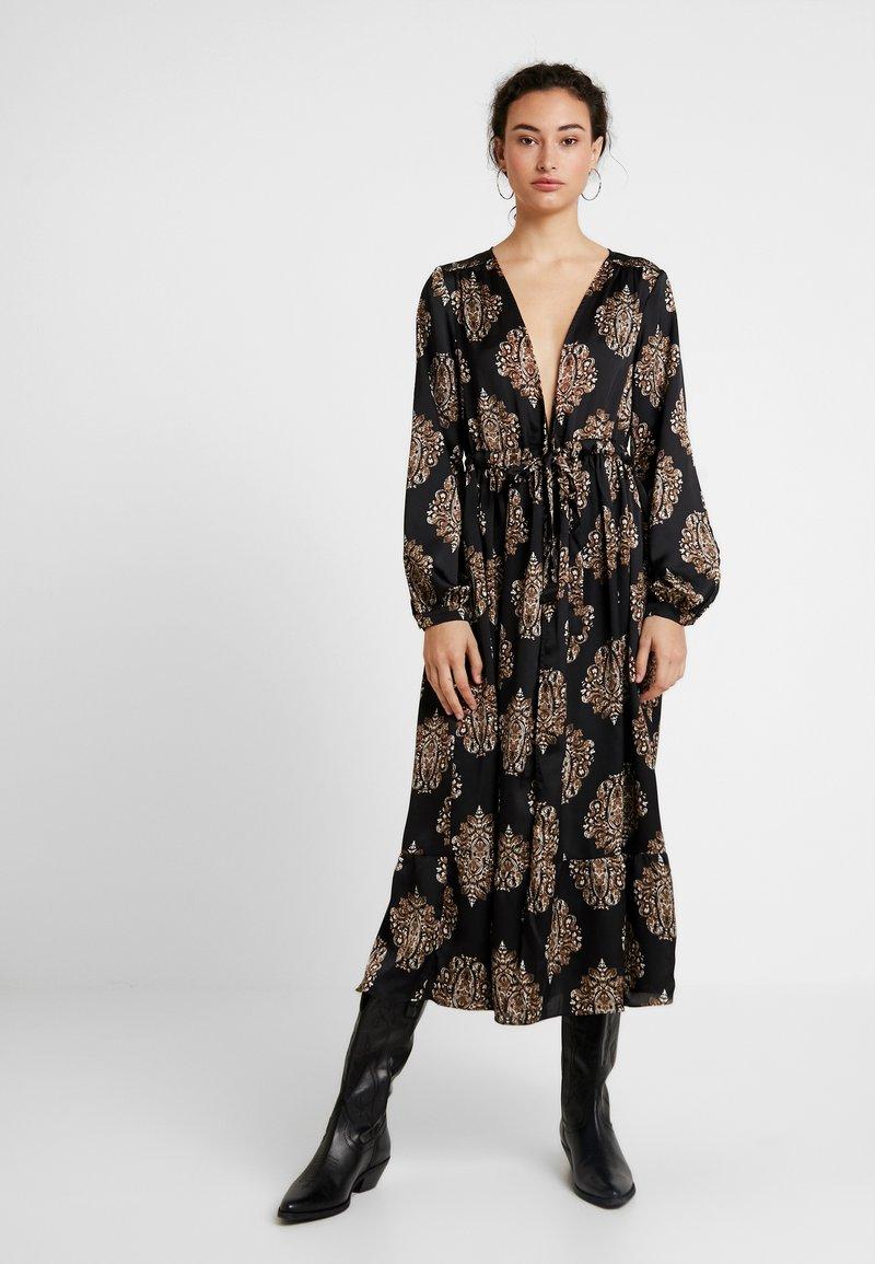 YAS - YASLOTTA KAFTAN - Maxi dress - black