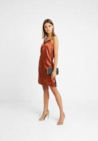 YAS - YASEMILY STRAP DRESS - Robe de soirée - coffee bean - 1