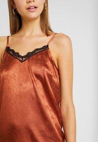 YAS - YASEMILY STRAP DRESS - Robe de soirée - coffee bean - 5