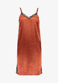 YAS - YASEMILY STRAP DRESS - Robe de soirée - coffee bean - 4