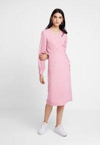 YAS - YASMOONA DRESS - Day dress - cameo rose - 0