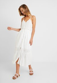 YAS - YASMINNA STRAP DRESS - Robe d'été - star white - 0
