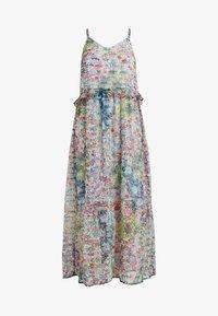 YAS - YASFLORA STRAP LONG DRESS - Denní šaty - star white - 3