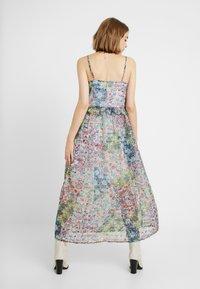 YAS - YASFLORA STRAP LONG DRESS - Denní šaty - star white - 2
