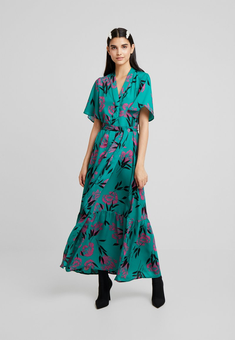 YAS - YASMANOLA ANKLE DRESS - Maxikleid - ultramarine green/manola
