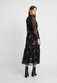 YAS - YASCELINA DRESS - Freizeitkleid - black - 3