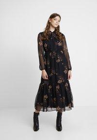 YAS - YASCELINA DRESS - Freizeitkleid - black - 0