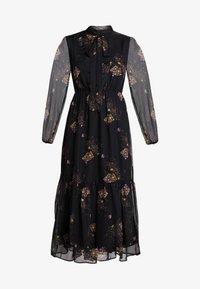 YAS - YASCELINA DRESS - Freizeitkleid - black - 5