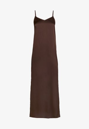 YASLASIA STRAP DRESS - Długa sukienka - coffee bean
