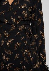 YAS - YASAUHO WRAP DRESS - Maxikleid - black - 5