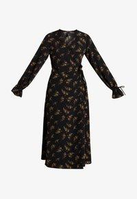 YAS - YASAUHO WRAP DRESS - Maxikleid - black - 4