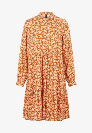 YASCARLA  - Robe chemise - bombay brown