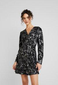 YAS - YASLAZY DRESS - Jerseykjole - black - 0
