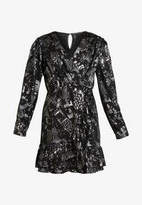YAS - YASLAZY DRESS - Jerseykjole - black - 5