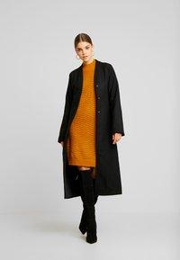 YAS - YASBRENTRICE DRESS - Jumper dress - buckthorn brown - 2