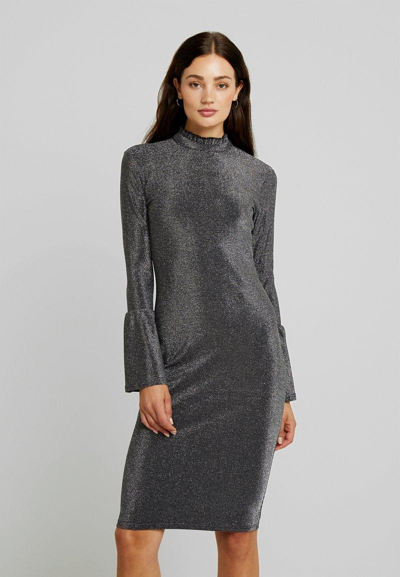 YAS - YASJENNIFER DRESS SHOW - Cocktailjurk - black/silver