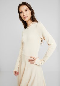 YAS - YASBECCO DRESS - Jumper dress - off-white - 4