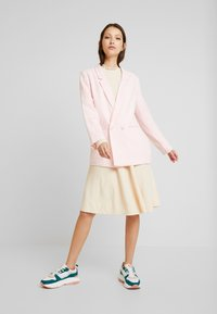 YAS - YASBECCO DRESS - Jumper dress - off-white - 1