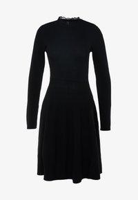 YAS - YASBECCO DRESS - Strikket kjole - black - 5