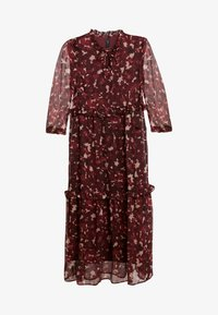 YAS - YASTIFFANI ANKLE DRESS - Vestido largo - syrah/tiffani print