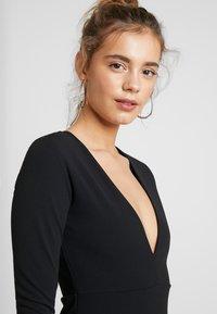 YAS - YASATLANTA BODYCON DRESS PARTY - Denní šaty - black - 4