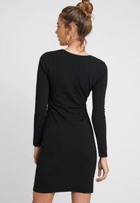 YAS - YASATLANTA BODYCON DRESS PARTY - Denní šaty - black - 2