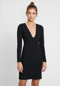 YAS - YASATLANTA BODYCON DRESS PARTY - Denní šaty - black - 0