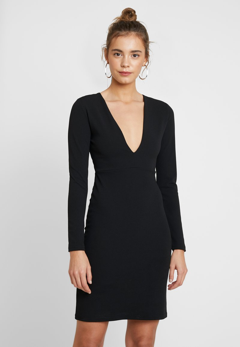 YAS - YASATLANTA BODYCON DRESS PARTY - Denní šaty - black