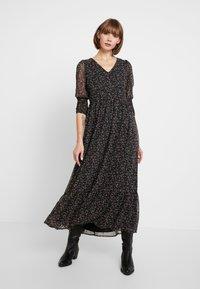 YAS - YASMANIC DRESS - Maxi dress - black - 0