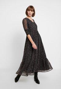 YAS - YASMANIC DRESS - Maxi dress - black - 2