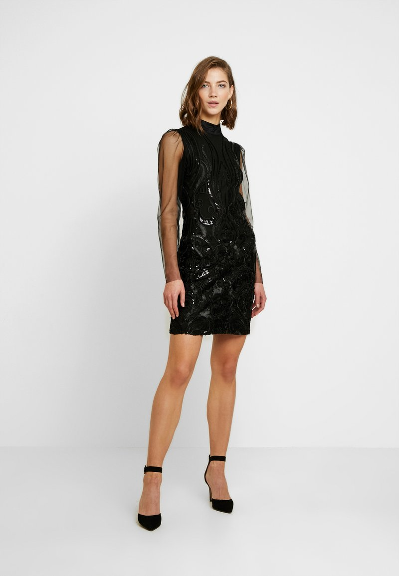 YAS - YASAVA DRESS - Cocktailkjole - black