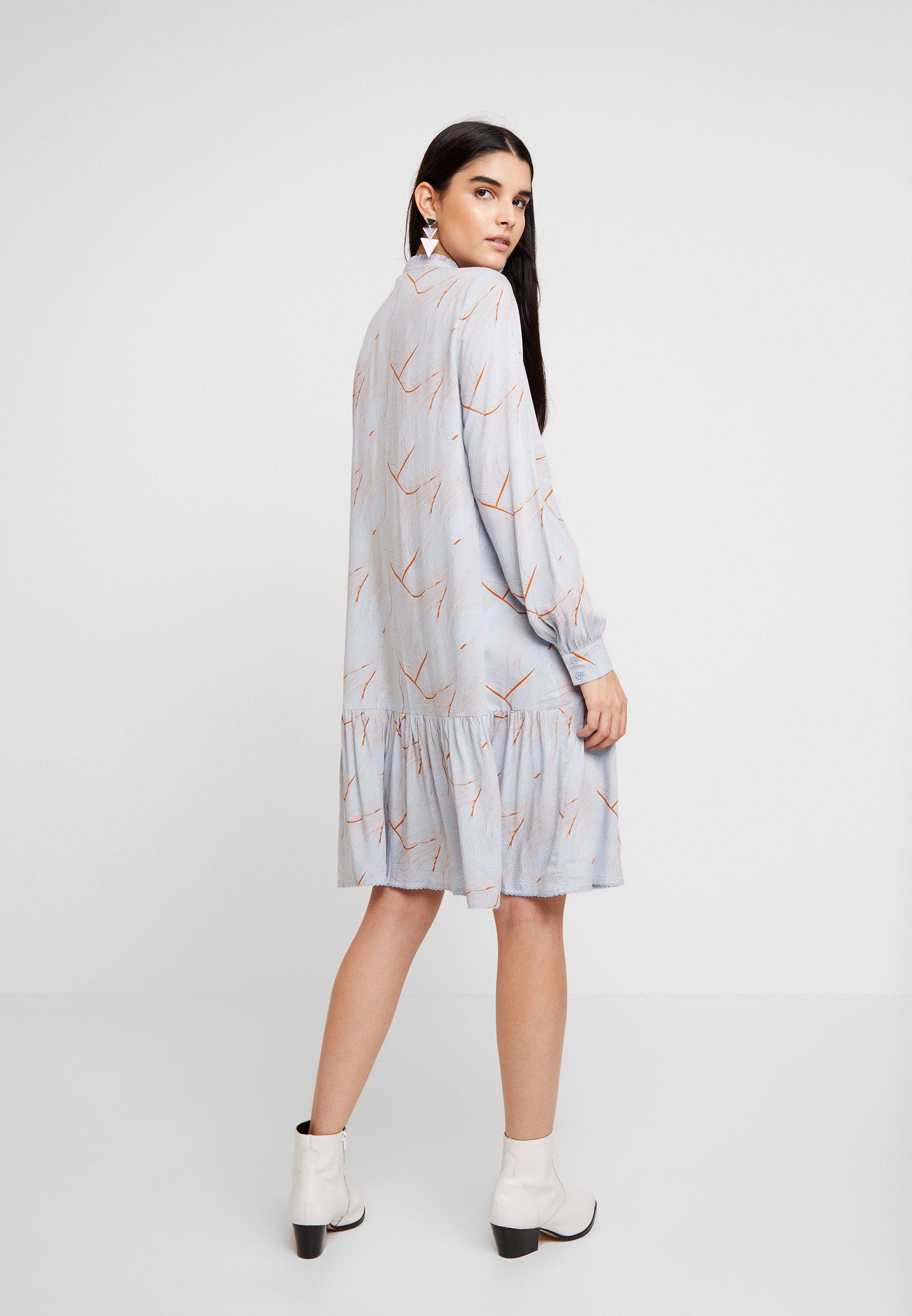 Yaswaves Dusk Blue DressAbito A Yas Camicia OiZPukXT