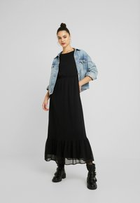 YAS - YASPEQUE MAXI DRESS - Vestido largo - black - 2