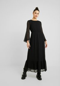 YAS - YASPEQUE MAXI DRESS - Vestido largo - black - 0