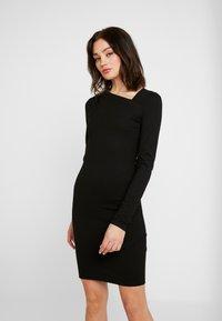YAS - YASZANE DRESS - Shift dress - black - 0