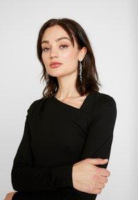 YAS - YASZANE DRESS - Shift dress - black - 5