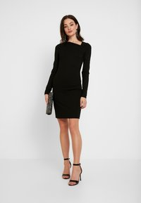 YAS - YASZANE DRESS - Shift dress - black - 2