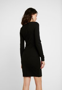 YAS - YASZANE DRESS - Shift dress - black - 3