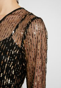 YAS - YASCHLOE DRESS - Cocktailjurk - black/gold - 7