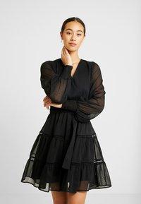 YAS - YASDANICA DRESS - Day dress - black - 0
